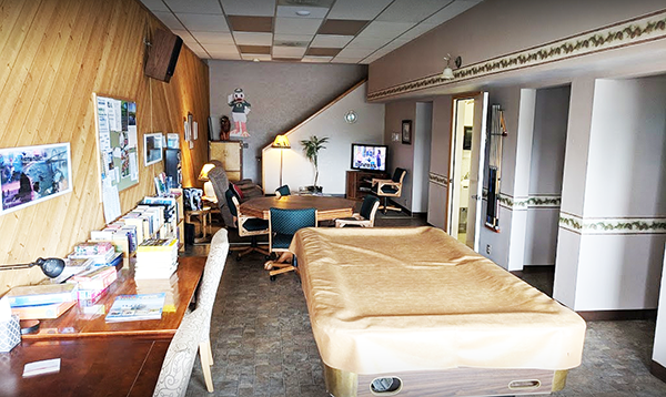 Pacific Pines RV Park & Storage recreation room